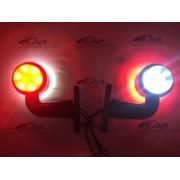 Lampa LED gabarit cu brat 90grade EgKal DMF-Polonia