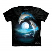 Playera 4d - Unisex -3081 Over The Moon