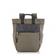 Crumpler Art Collective 15 inch Tote Backpack fossil 24 L