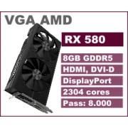 VGA AMD RX580, 8GB, 36mj