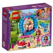 Конструктор Лего Френдс - Игралната площадка на хамстера на Оливия - LEGO Friends, 41383