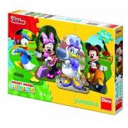 Dino puzzle 4x54 kom Mickey Mouse