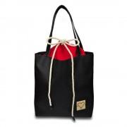 Xiss černá multifunkční kabelka Strawberry Red