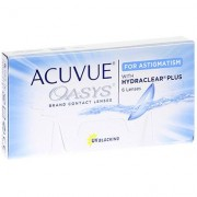 Johnson & Johnson Acuvue Oasys For Astigmatism (6 contact lenses)