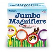 Learning Resources Jumbo Magnifier Set Of 6