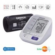 Tensiometru digital de brat OMRON M3 Comfort (generatie noua), validat clinic, LED-uri avertizare, manseta inteligenta