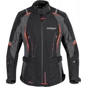 Germot Alice Ladies Motorcycle Textile Jacket Black Red 44