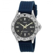 Timex Quartz Grey Round Men Watch T2P032
