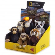National Geographic - Animal de plus BABY PADURE TROPICALA 17 CM diverse modele