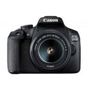 Canon 2 Camara digital reflex canon eos 2000d + 18-55 is/ cmos/ 24.1mp/ digic 4+/ full hd/ 9 puntos de referencia/ wifi/ nfc