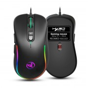 HXSJ J300 RGB Lighting Programmable Gaming Mouse[7 Buttons]
