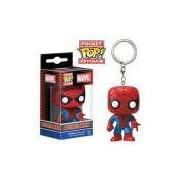 Chaveiro Homem-Aranha / Spiderman - Funko Pop Pocket Marvel