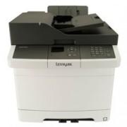 Мултифункционално лазерно устройство Lexmark CX317dn, цветен, принтер/копир/скенер, 1200 x 1200 dpi, 23 стр/мин, LAN1000, USB 2.0, А4