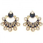 Sukkhi Traditionally Gold Plated AD Earring For Women