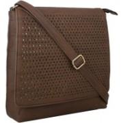 LI LEANE Brown Sling Bag
