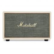 Marshall Acton Cream - безжичен аудиофилски спийкър за iPhone, iPod и iPad и мобилни устройства с Bluetooth и 3.5 mm изход (кремав)