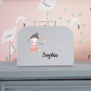 YourSurprise Kinderkoffertje - Grijs - Middel
