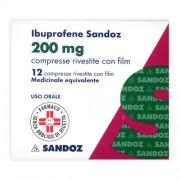 Sandoz Spa Ibuprofene San*12cpr Riv 200mg