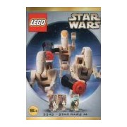 Star Wars Lego #3343 Figure Set Battle Droid Commander & 2 Battle Droids
