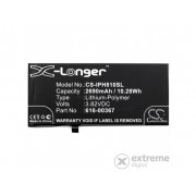 Gigapack 2690mAh Li-Polymer baterija za Apple iPhone 8 Plus 5.5 (Za ugradnju potrebno je stručno znanje!)