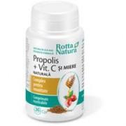 Propolis cu Vitamina C Naturala si Miere Rotta Natura 30cpr