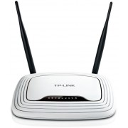 Router TP-Link TL-WR841N, 2,4GHz Wireless N 300Mbps, 4 x 10/100Mbps LAN Ports, 1 x 10/100Mbps WAN Port, Fixed Omni Directional Antenna 2 x 5dBi