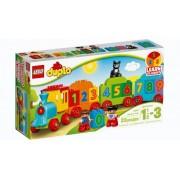 Lego Klocki konstrukcyjne LEGO DUPLO Pociąg z Cyferkami 10847