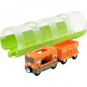 Trenulet marfa cu tunel BRIO
