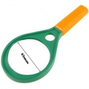 Evershine Gifts And Household 65mm Magnifying Double side magnifying glass with compass Optical lens 4X 6X