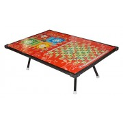 Kotak Sales Kids Board Game Wood Table Ludo Snake & Ladder Bed Study Laptop Support Table Birthday Party Gift Multipurpose Usage