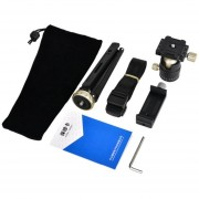 EW Cámara SLR PLEGABLE MT2 Mobile Phone Soporte PTZ Panorámica Mini kit de trípode