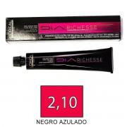 Loreal DIARICHESSE 2,10 Negro Azulado - tinte 50ml