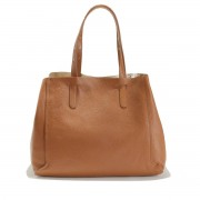 GERARD DAREL Shopper SIMPLE2, genarbtes Leder
