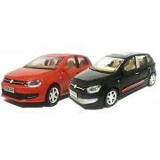 Jack Royal Volkswagen Polo Car (Red & Black- Set Of 2)