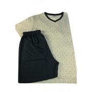 Brent bavlněné pyžamo pro pány XL béžová