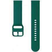 Curea Silicon Samsung FKM Sport ET-SFR82MGEGWW pentru Samsung Galaxy Watch Active 2 (Verde)
