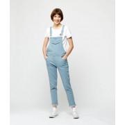 ETAM Salopette in gestreepte jeans - 36 - STONE - Etam