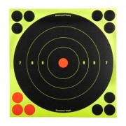 "Birchwood Casey Shoot-N-C Target - 8"""" Bullseye, 6 Pack"