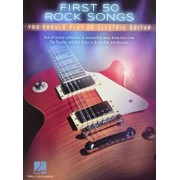 First 50 Rock Songs You Should Play on Electric Guitar, Paperback/Hal Leonard Corp
