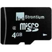 Strontium 4 GB MicroSD Card Class 4 Memory Card