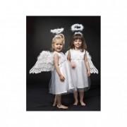Ruha angyal fehér 4-6éves textil