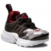Cipők NIKE - Presto Print (TD) 859598 001 Black/Gym Red/Wolf Grey/White
