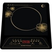 Crompton Essential Induction Cooktop(Black, Push Button)