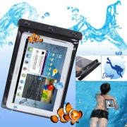 WP-180 Black Waterproof Bag with Armband for 10.1 inch Tablet PC Water-proof Depth: 10M (IPX8)(Black)