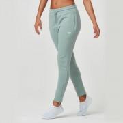 Myprotein Dames Tru-Fit Slim Fit Joggers - XL - Khaki Marl