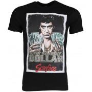 Mascherano T-shirt - Scarface Get Every Dollar - Zwart