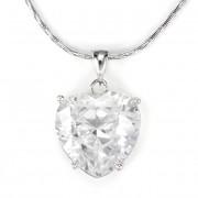 Swarovski nagy szív alakú kristályos nyaklánc