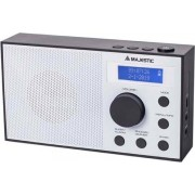 Majestic 109193 Radio Digitale Dab/fm Radio Portatile Display Lcd Colore Bianco / Nero - 109193 Rt-193 Dab