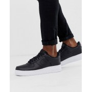 Nike Air Force 1 '07 trainers in black with white sole