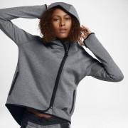 Nike Sportswear Tech Fleece Damen-Poncho mit durchgehendem Reißverschluss - Grau